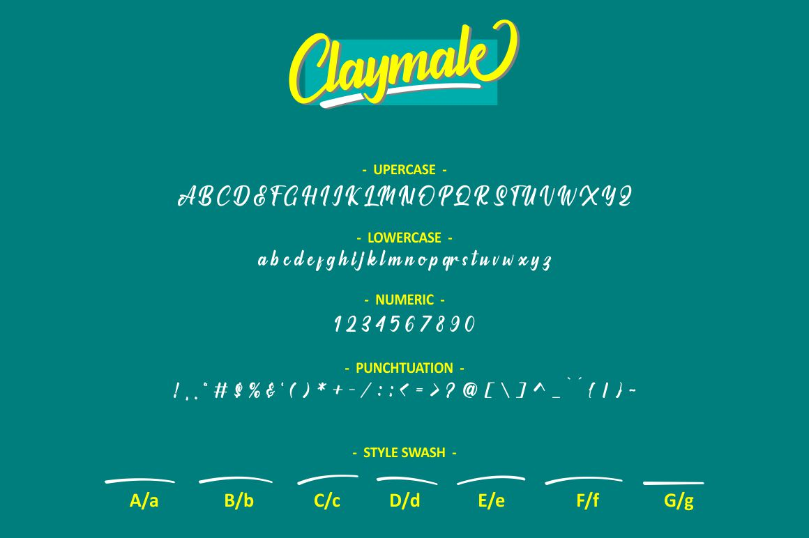Milleniale Font Duo example image 4