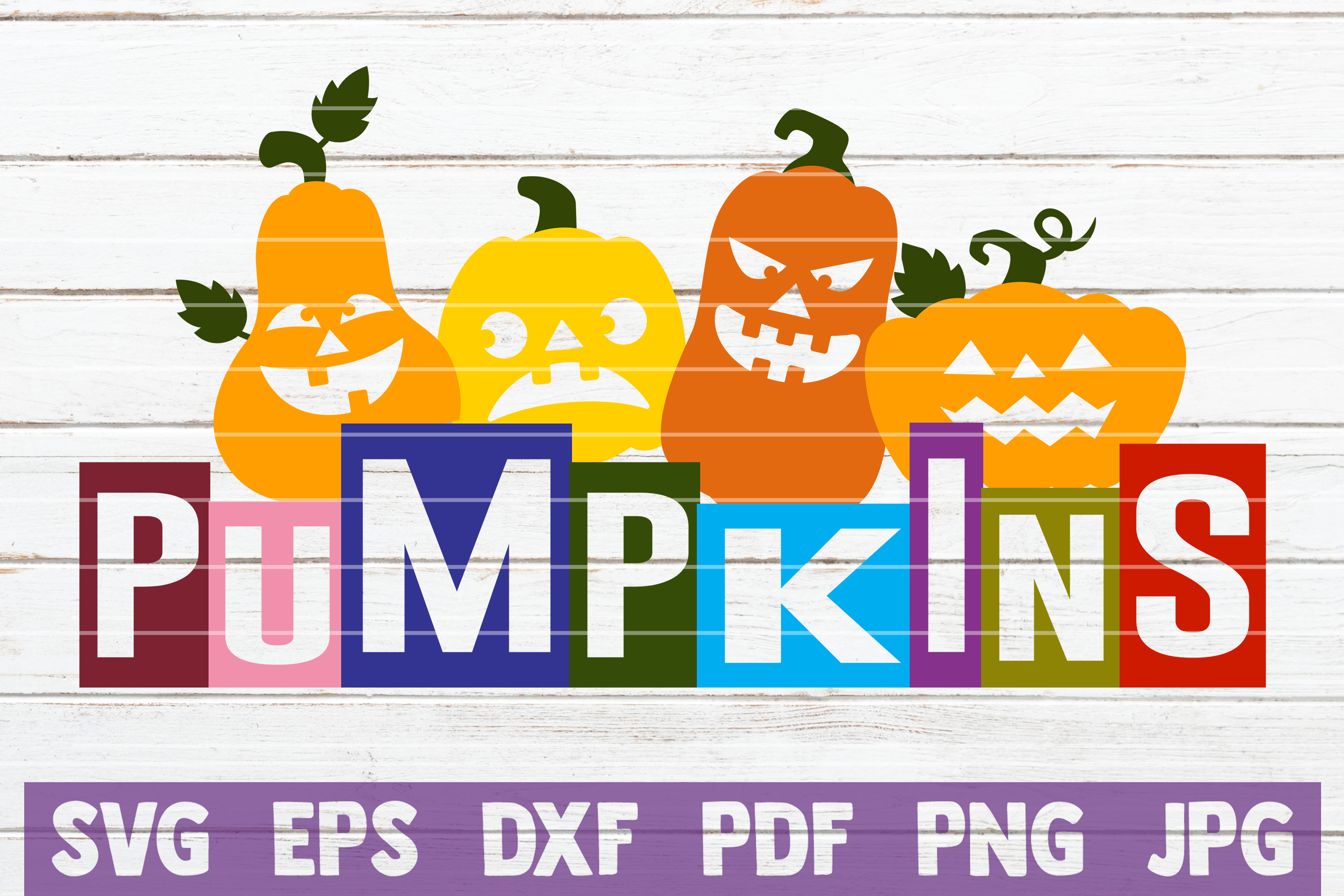 Pumpkins SVG Cut File example image 1