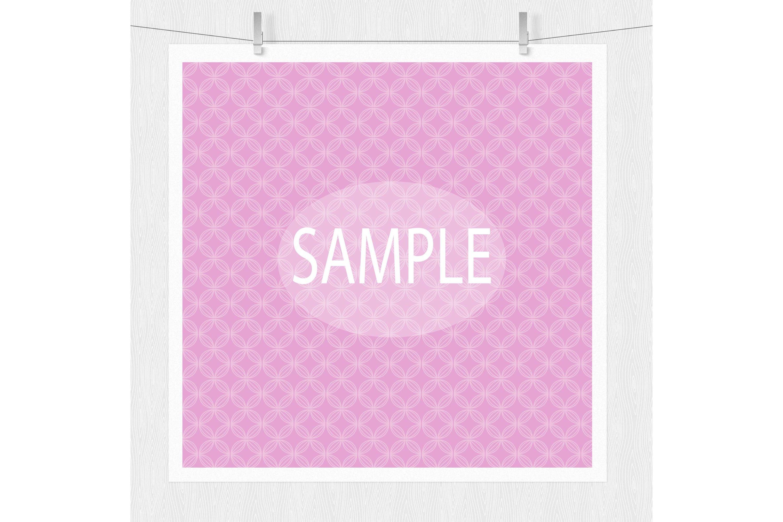 Pastel Geometric Digital Paper example image 2