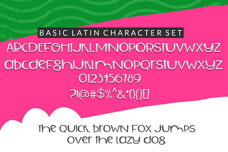 Tuti Fruiti Font Bundle- Handwritten Font 6 Pack example image 7