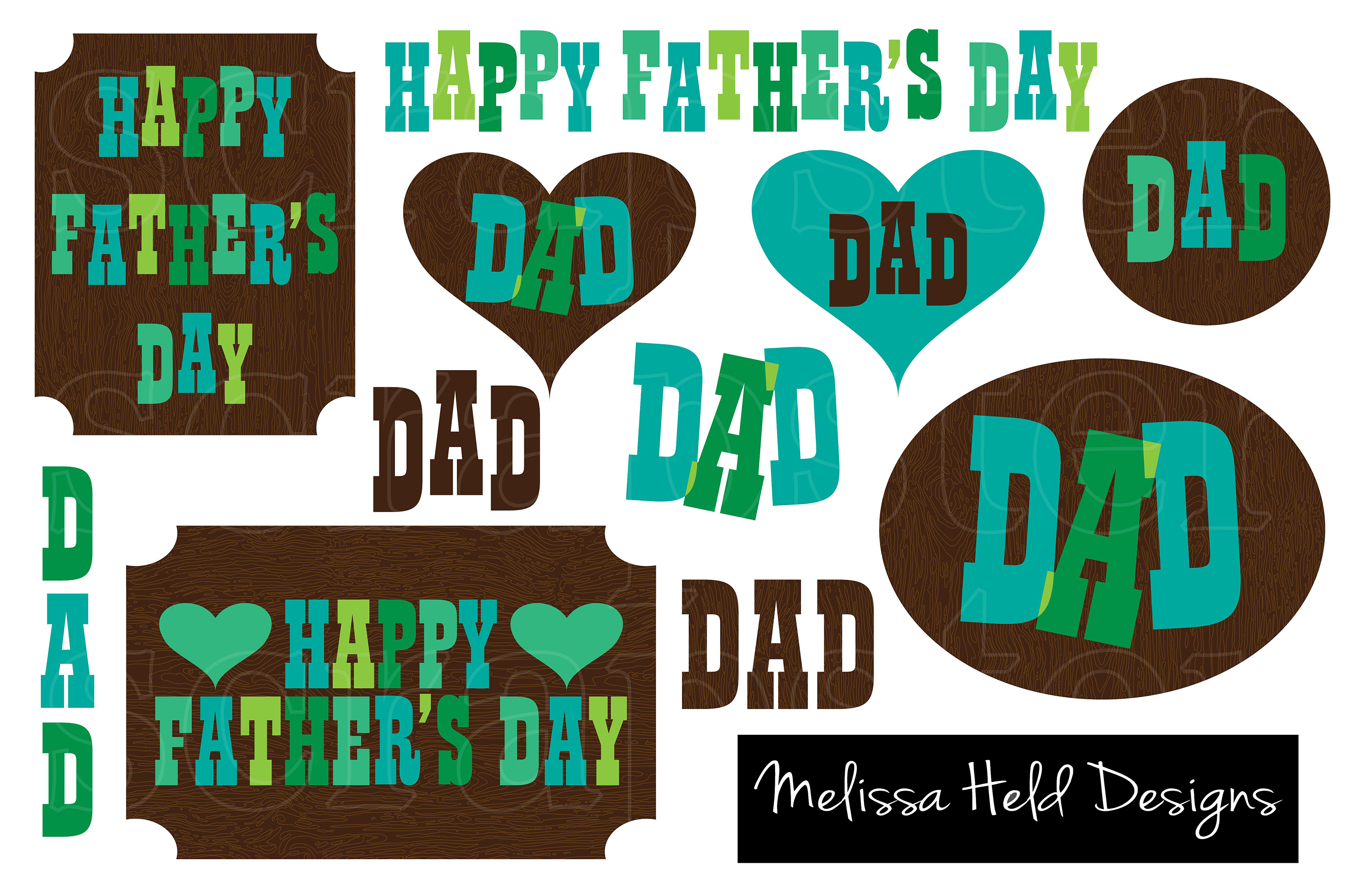 Father's Day Clipart example image 1