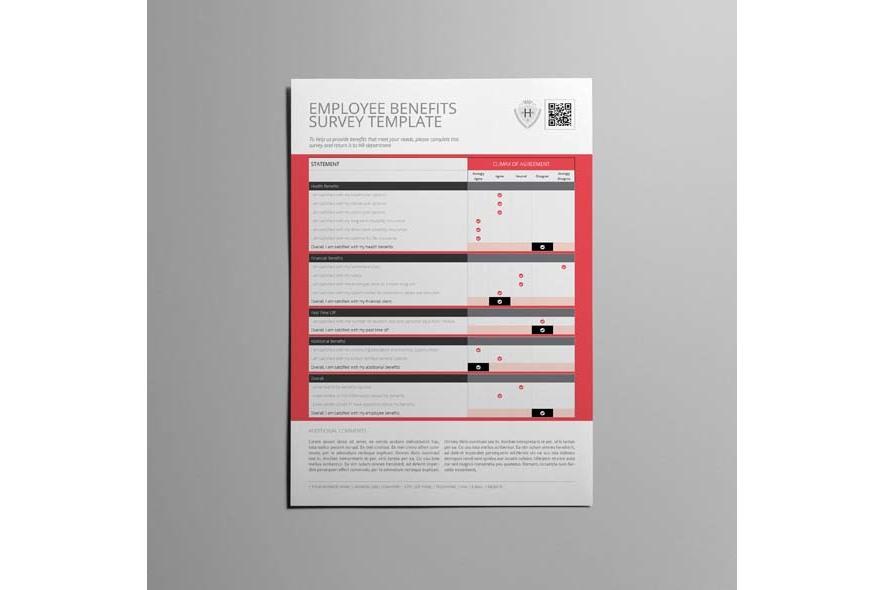 Employee Benefits Survey Template example image 3