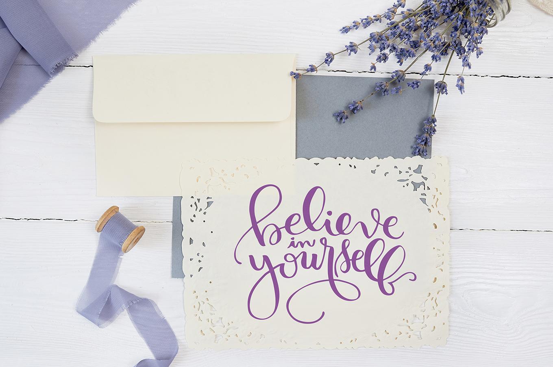 Believe in Yourself example image 2