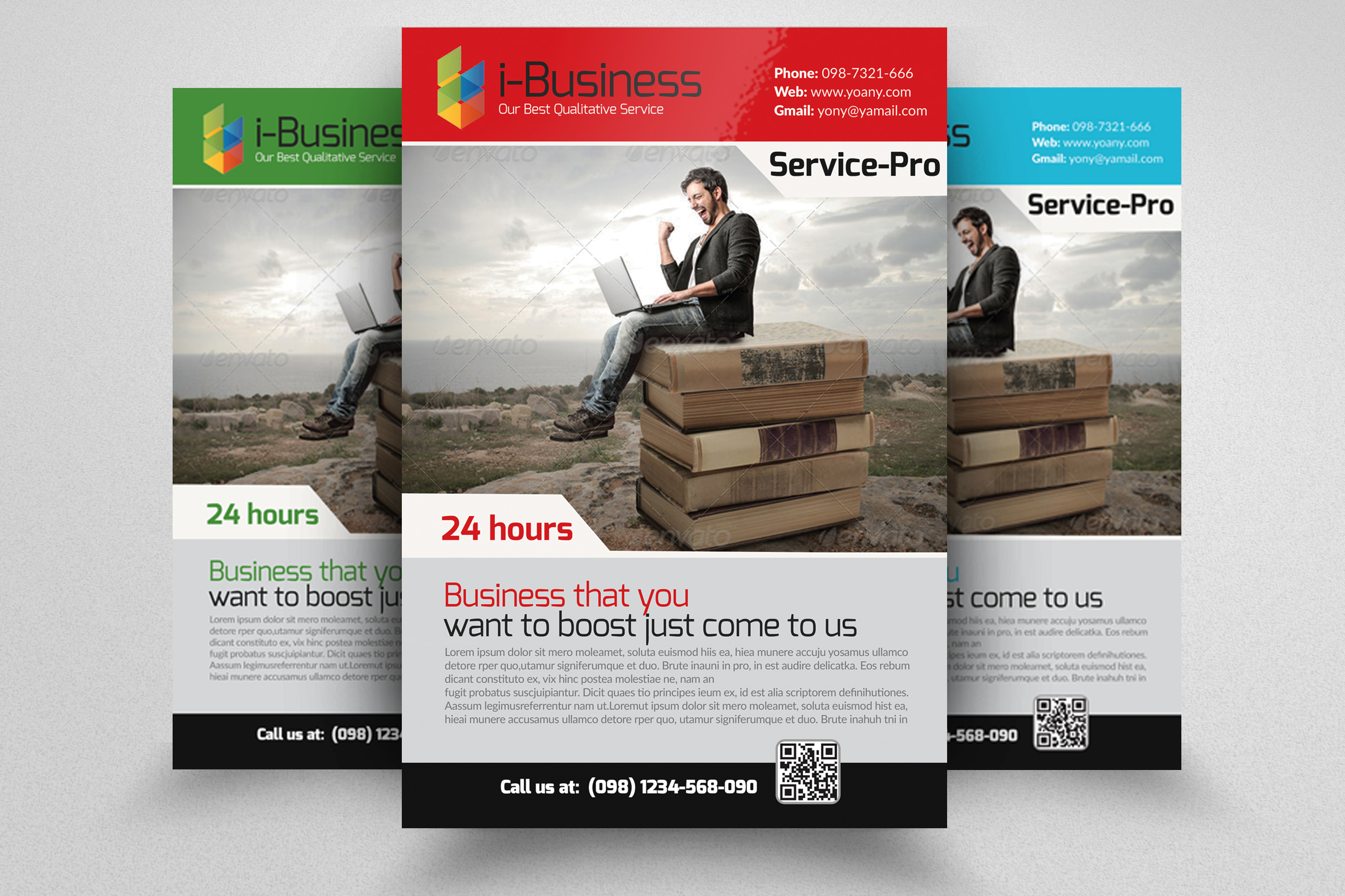 Business Solution Flyers example image 1