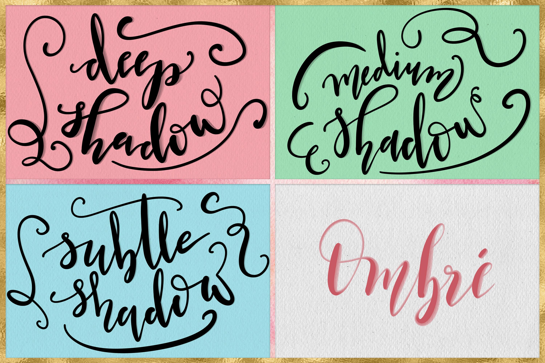Procreate Lettering Brushes + Bonus example image 9