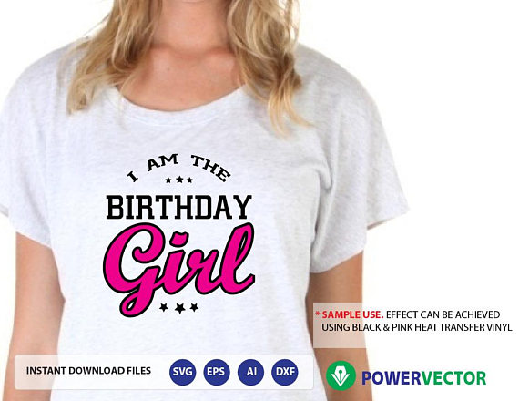Daddy Mommy Sister Of The Birthday Girl Family Celebration T Shirt Design SVG