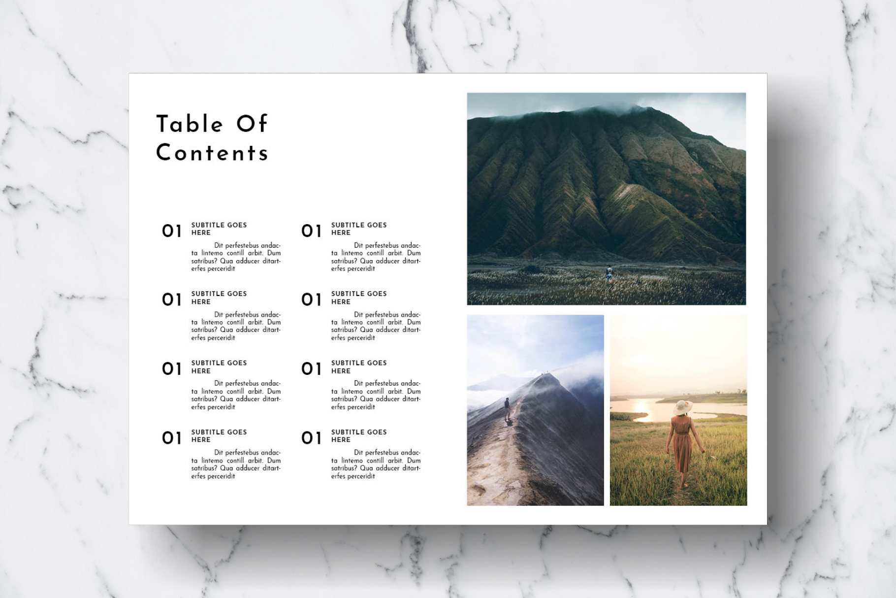 Magazine Template Vol. 18 example image 3