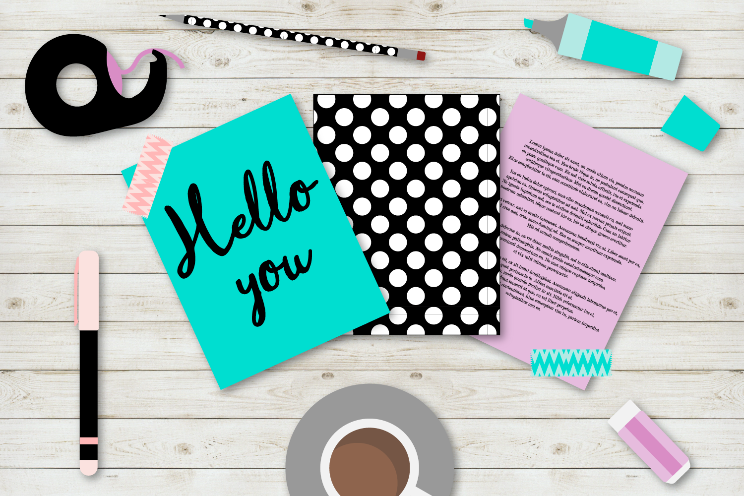 Girl Boss Desk Mockup example image 2
