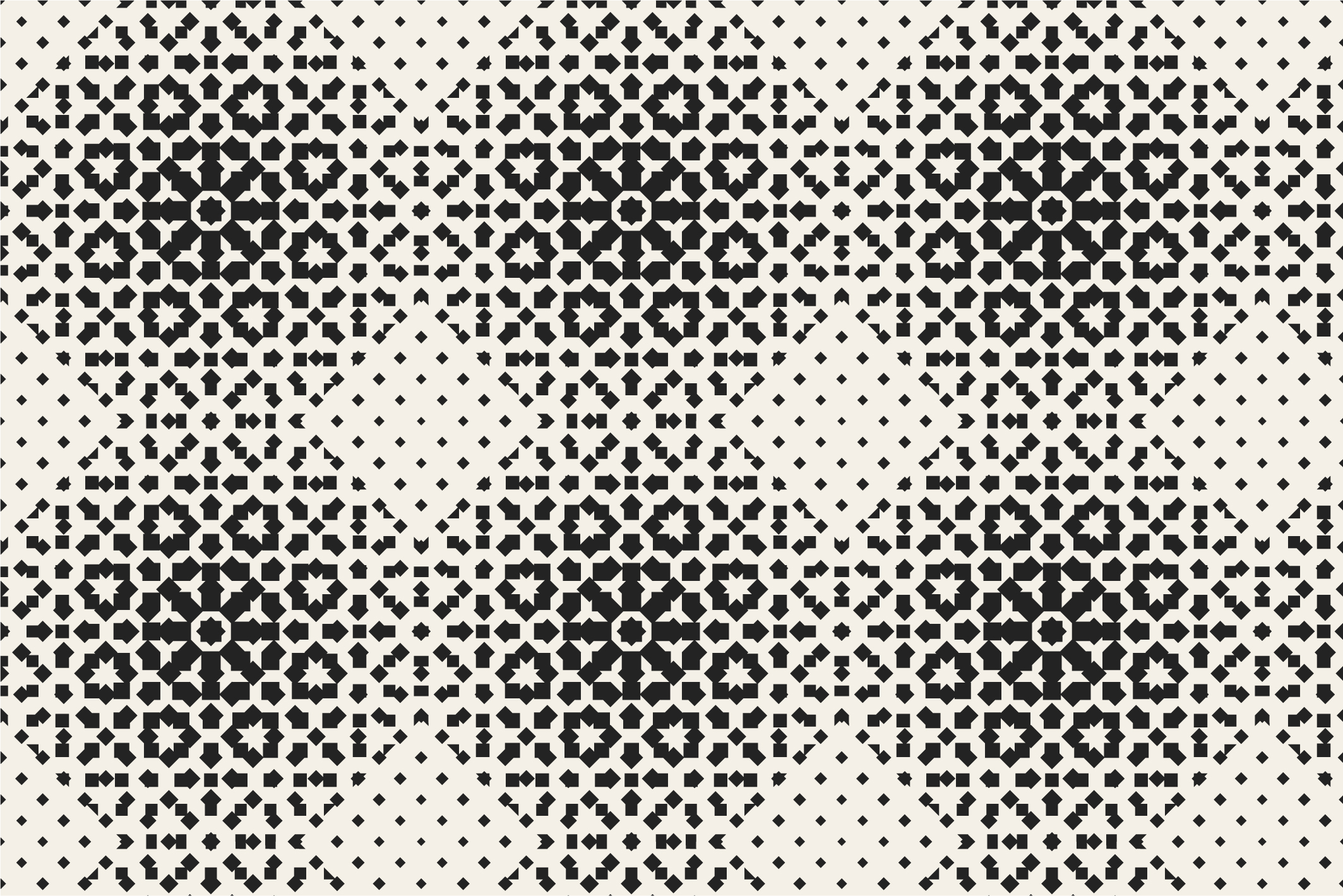 Halftone seamless patterns example image 5