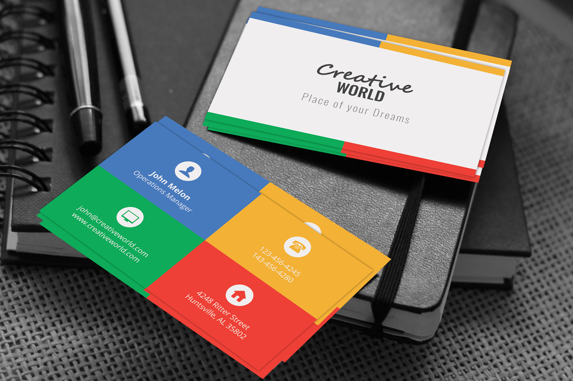 Creative Business Card 5 example image 1