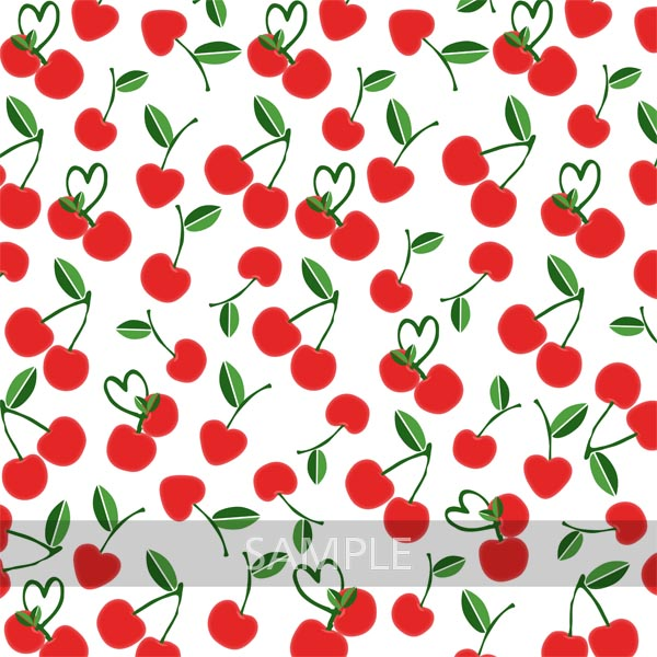 Cherry Digital Scrapbook Paper Pack example image 7