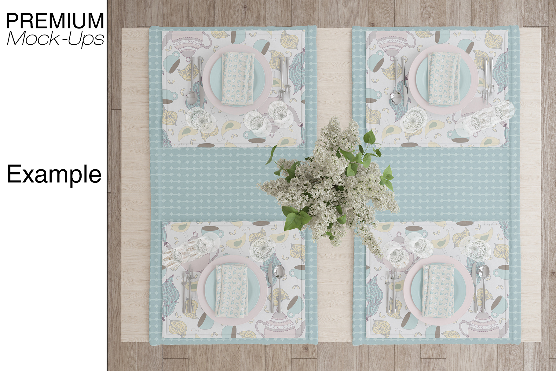 Tablecloth, Runner, Napkins & Plates example image 8