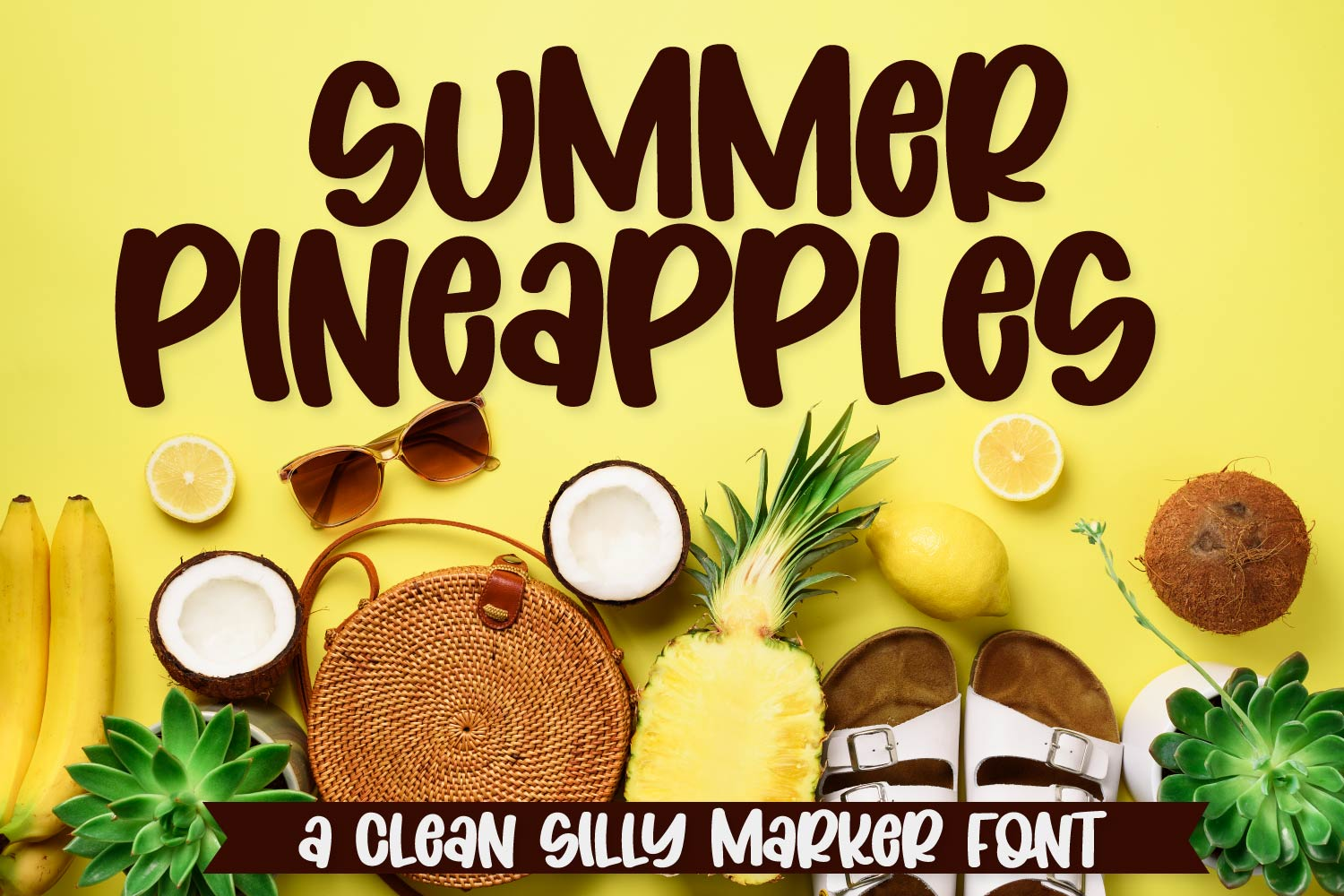 Coconut Wonder - A Simply Adorable Marker Font example image 7