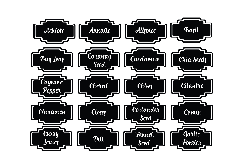 Kitchen Bundle-Spice Labels-Kitchen Designs-Kitchen Objects example image 16