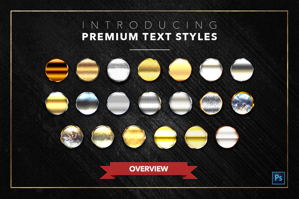 Gold & Silver #2 - 20 Text Styles example image 3