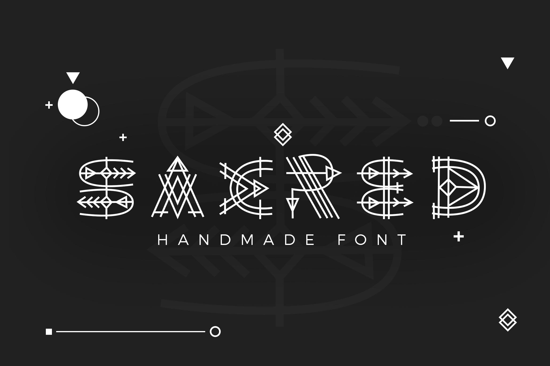 Paraoh - Sacred Font example image 1