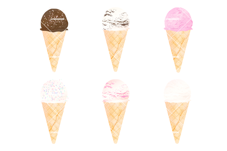 Ice Cream Clipart example image 3