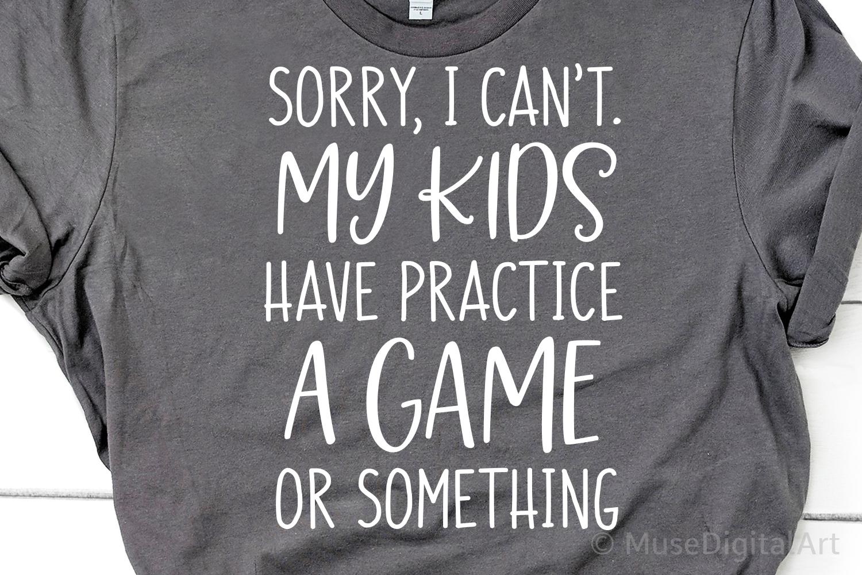 Funny Mom Shirt Svg, Football Mom Svg, Baseball Mom Life Svg example image 2
