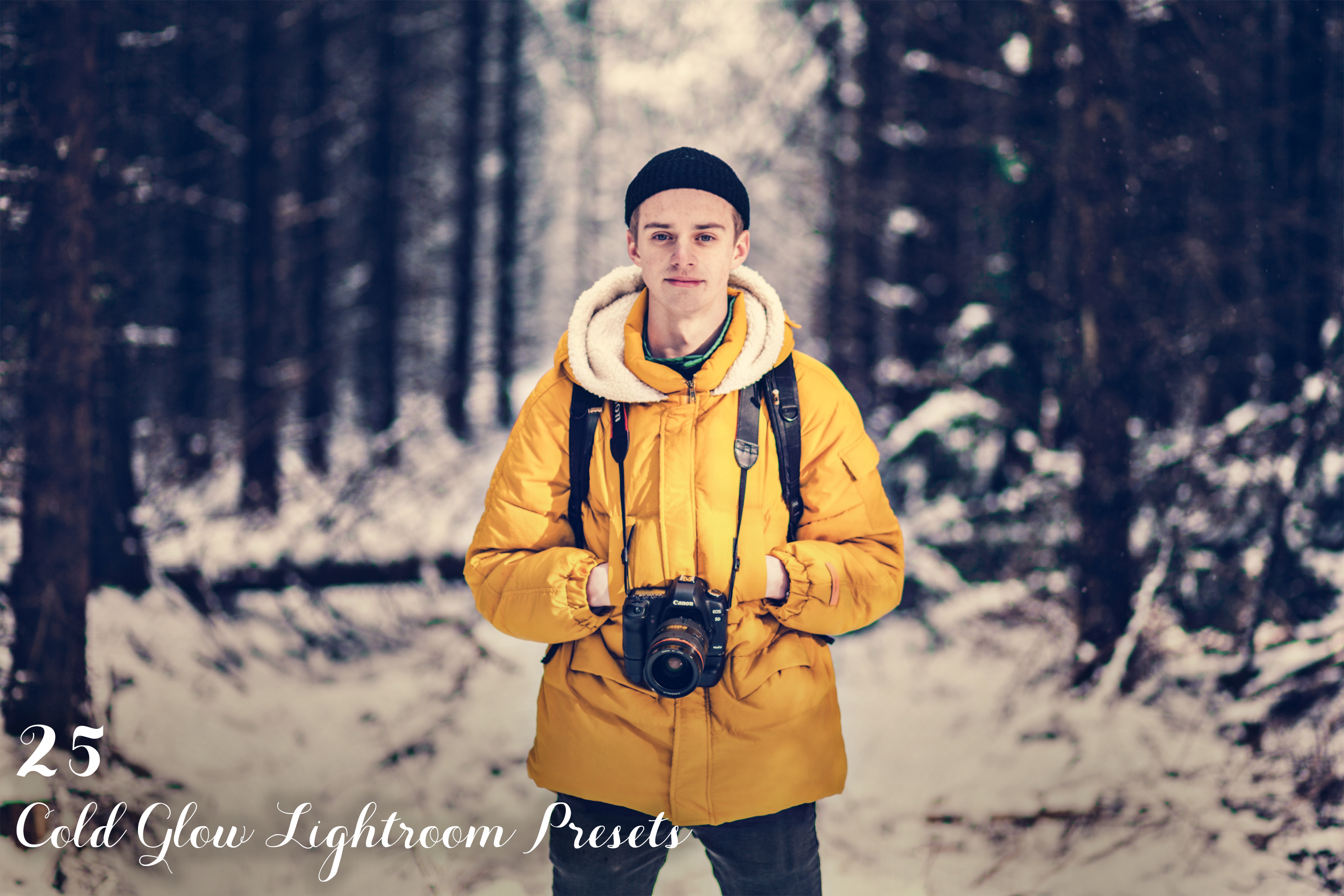 Cold Glow Lightroom Presets example image 1