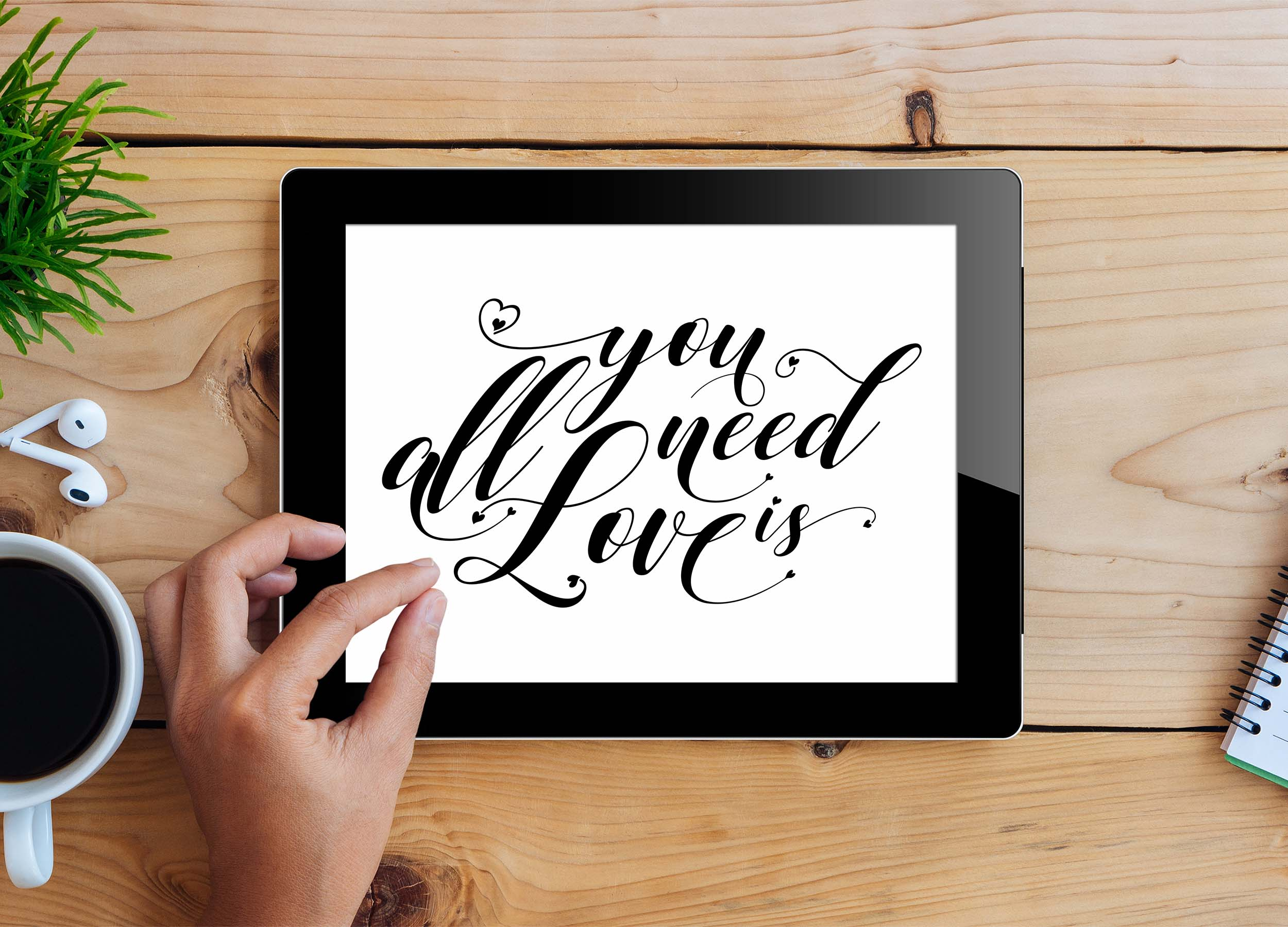 All you need is Love SVG DXF PNG EPS example image 3
