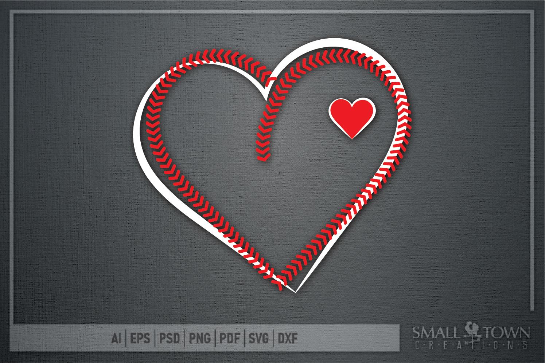 Baseball, Softball, Stitches, Team, PRINT, CUT & DESIGN example image 5
