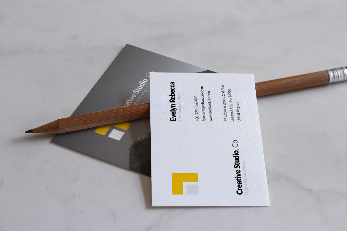 Minimalist Business Card Vol. 01 example image 2