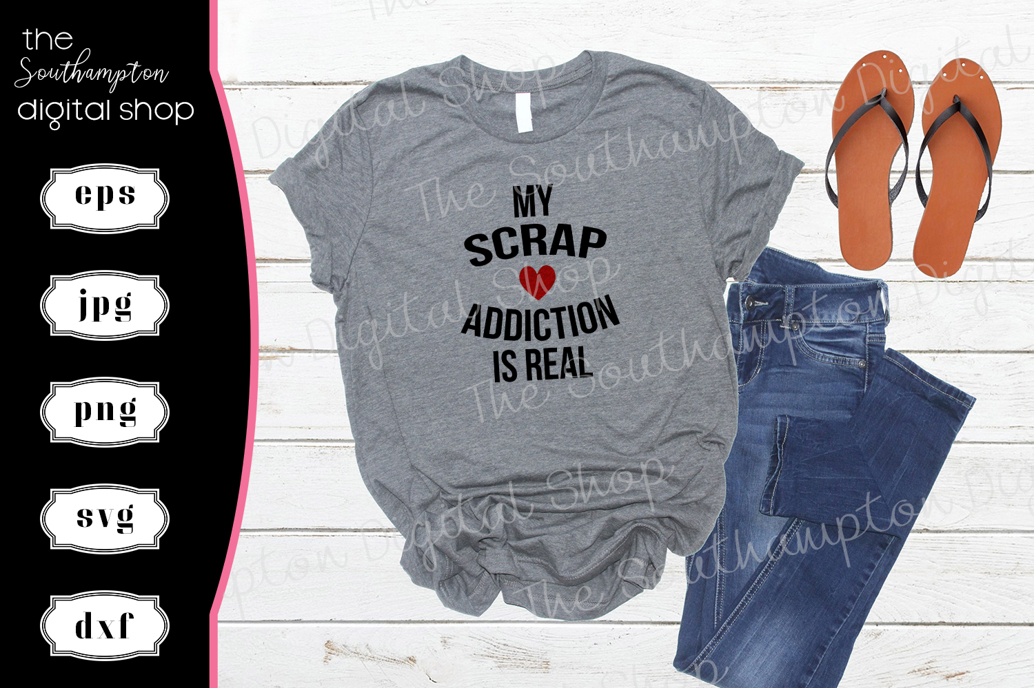 My Scrap Addiction Is Real example image 1