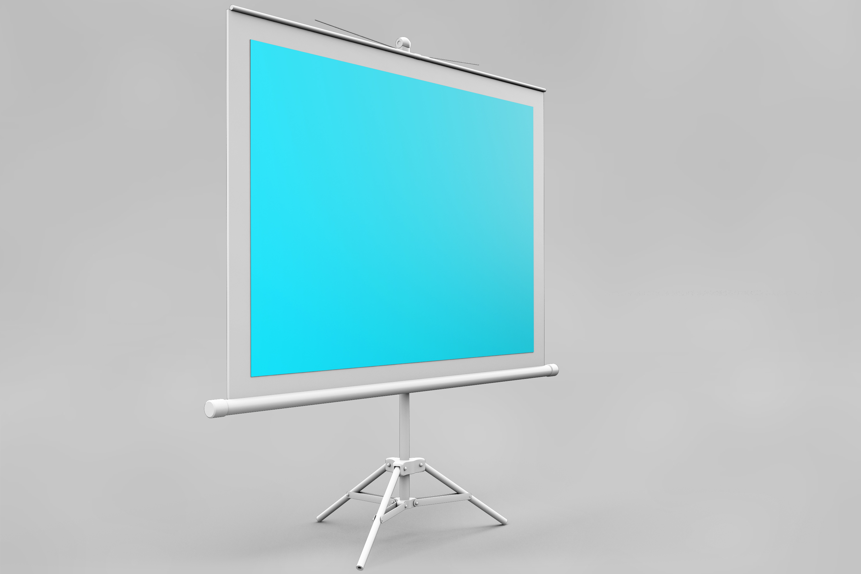 Projector Screen MockUp example image 6