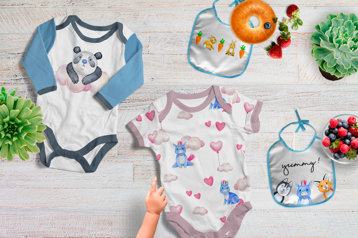 CUTE ANIMALS collection BABY SHOWER example image 7