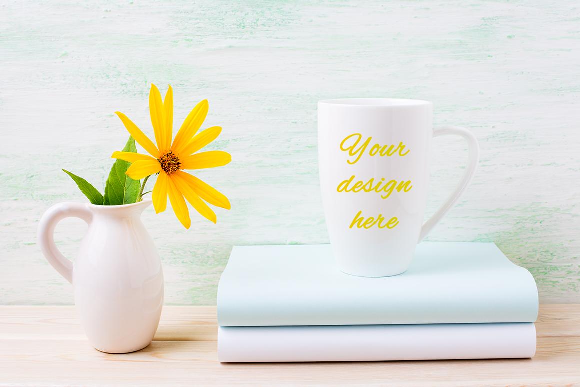 Coffee mug mockup bundle example image 8