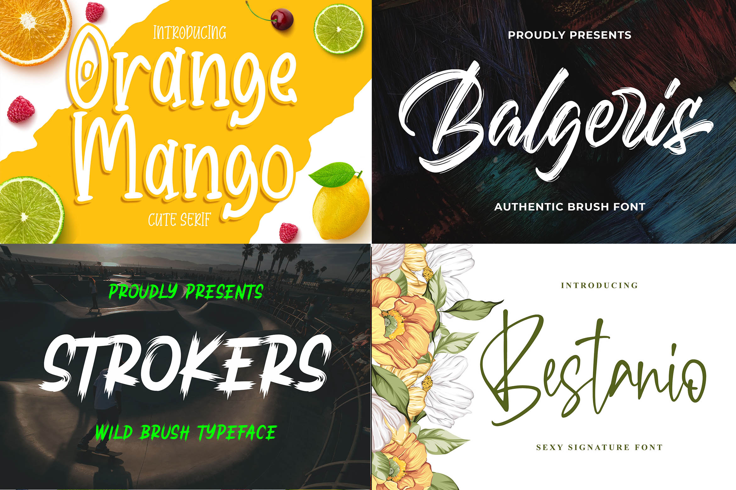 New Year Big Bundle - Crafting Fonts Collection example image 9