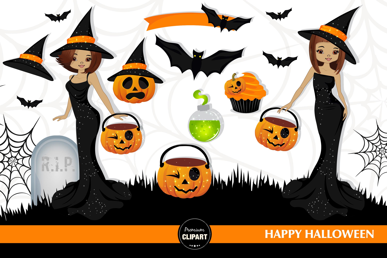 Halloween witch, Halloween illustrations, Halloween pumpkin example image 2