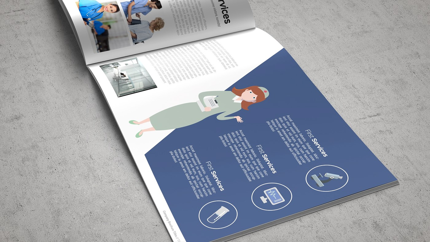 Health & Care Brochure Template example image 11