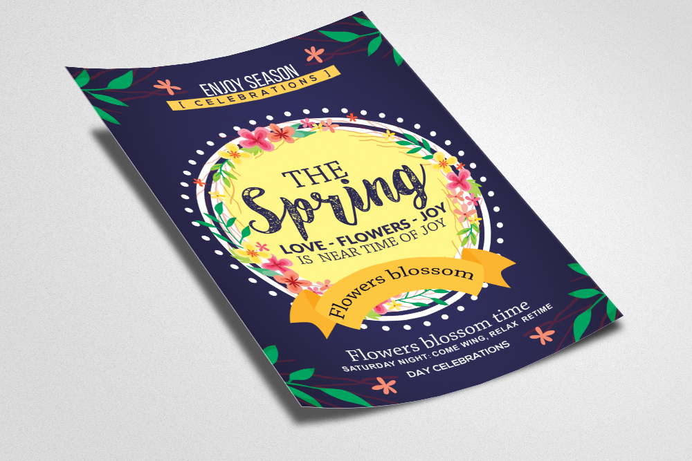 Spring Carnival Flyer Template example image 2