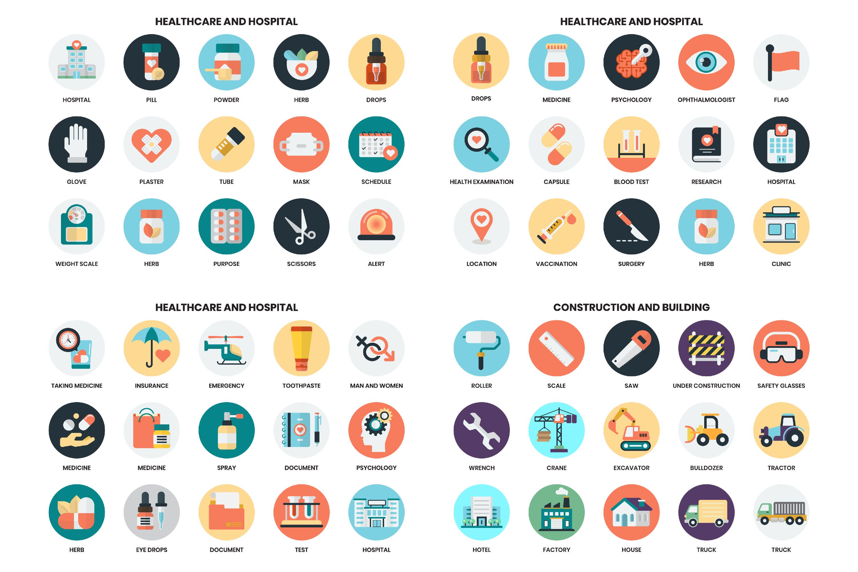 1155 PERFECT ICONS SET example image 16