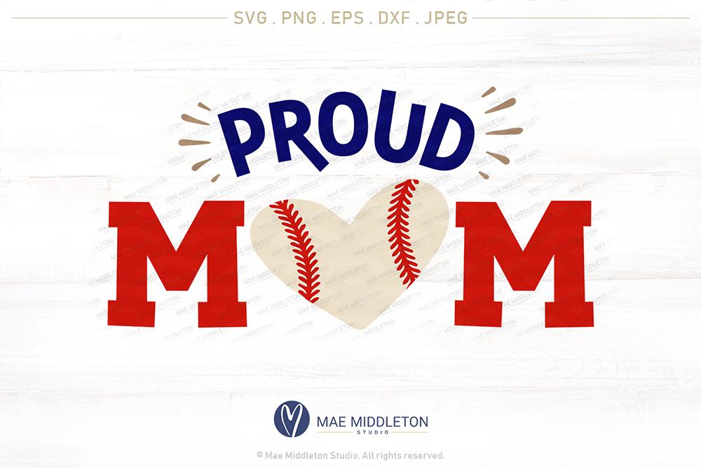 Proud Baseball Mom example image 4