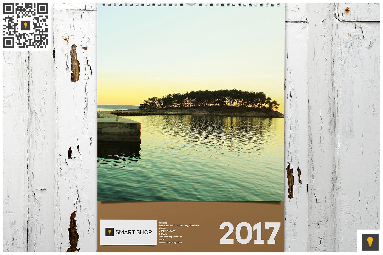 2017 Wall Calendar example image 3