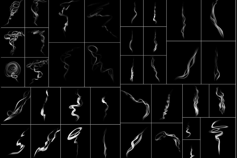 75 Smoke Overlays example image 4