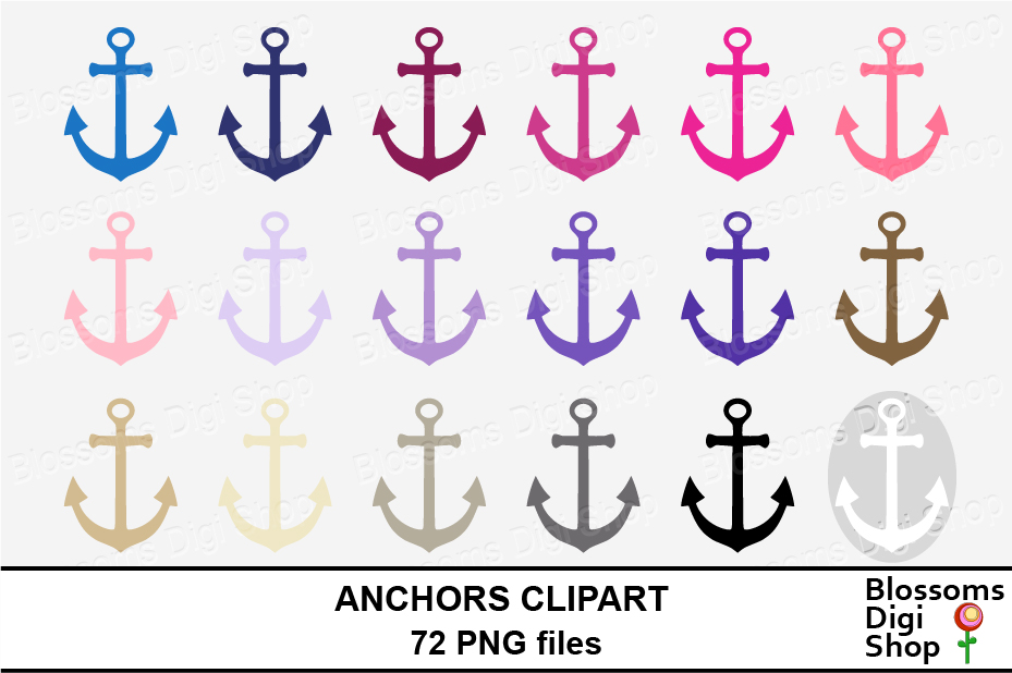 Anchor Clipart example image 3