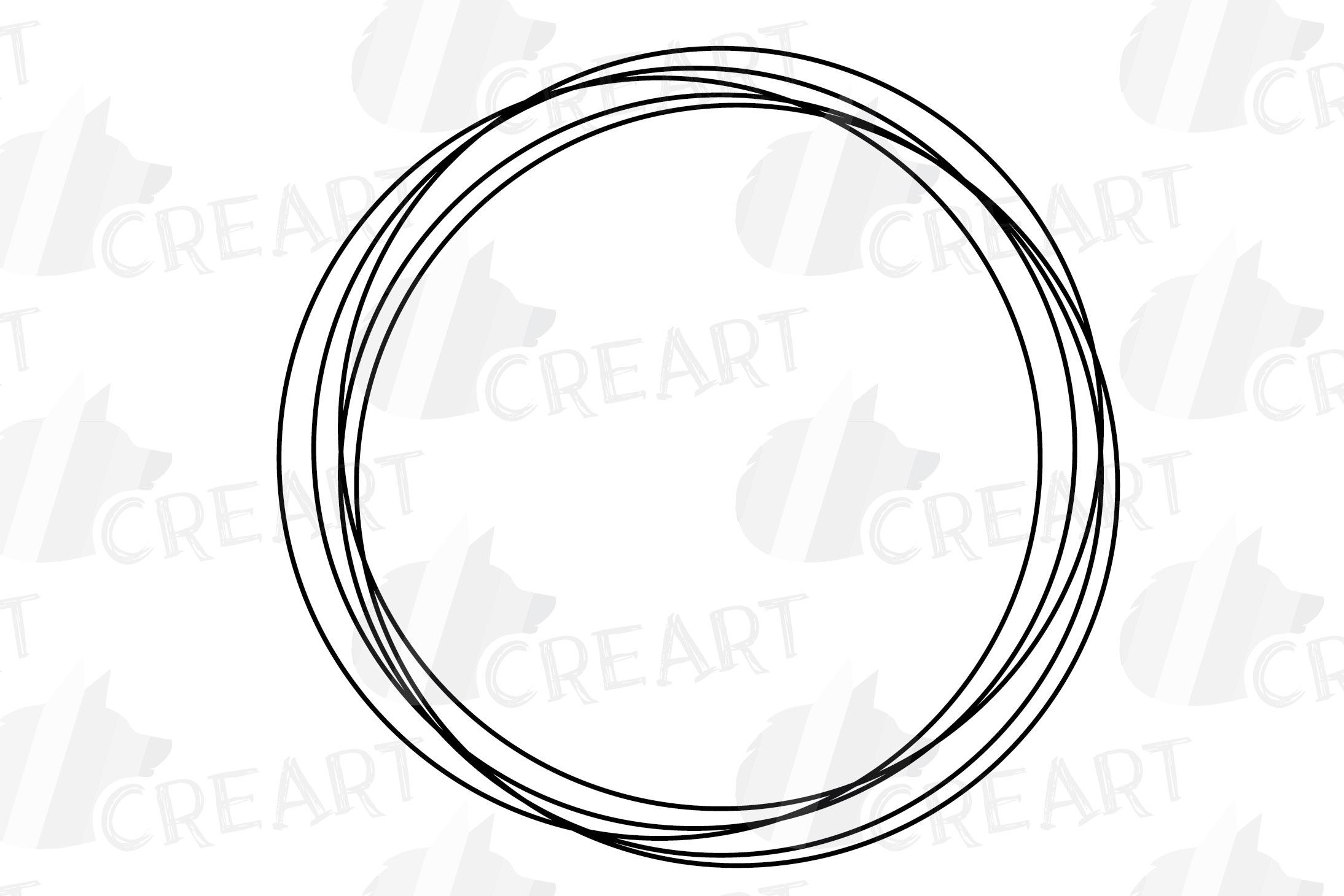Geometric lineal black frames decor clip art. Wedding border example image 13