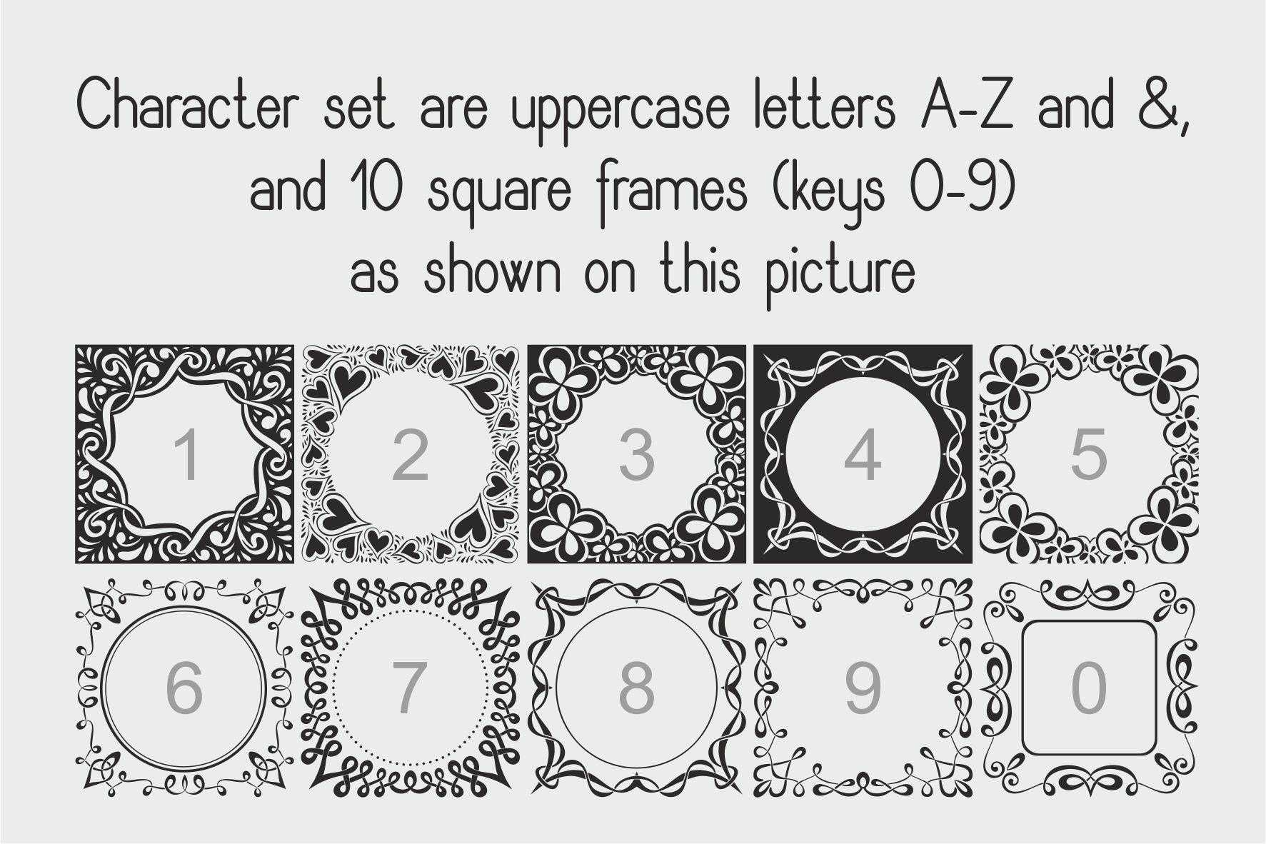 Square Monogram Framer example image 7