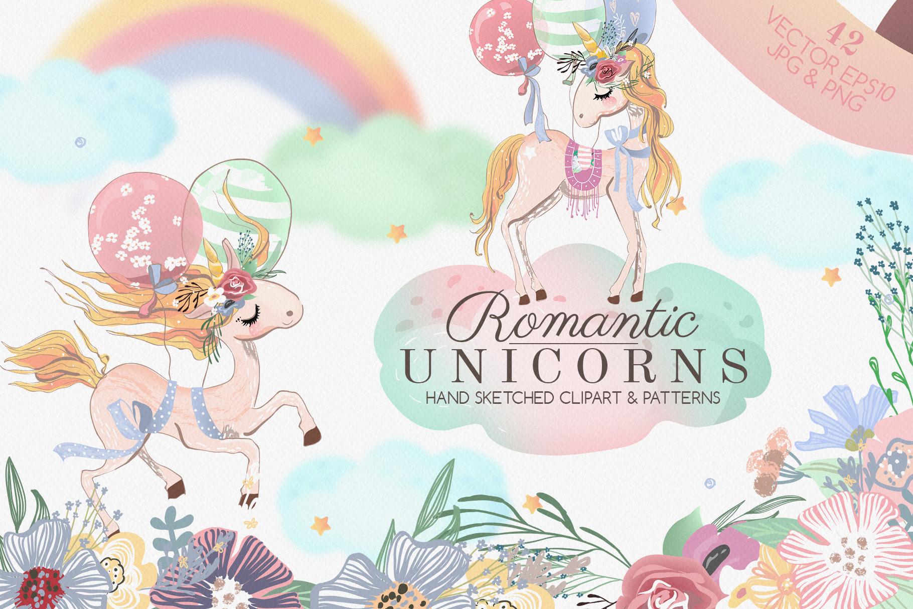 Romantic Unicorns example image 1