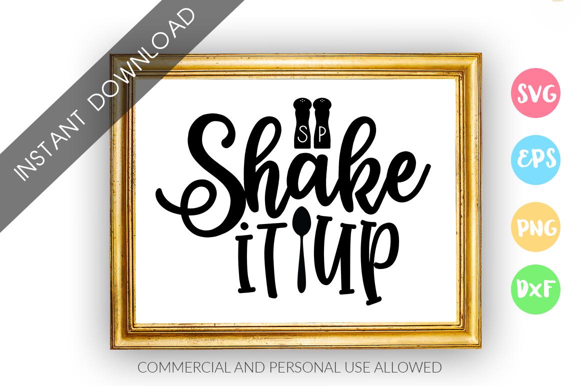 Shake it up SVG Design example image 1