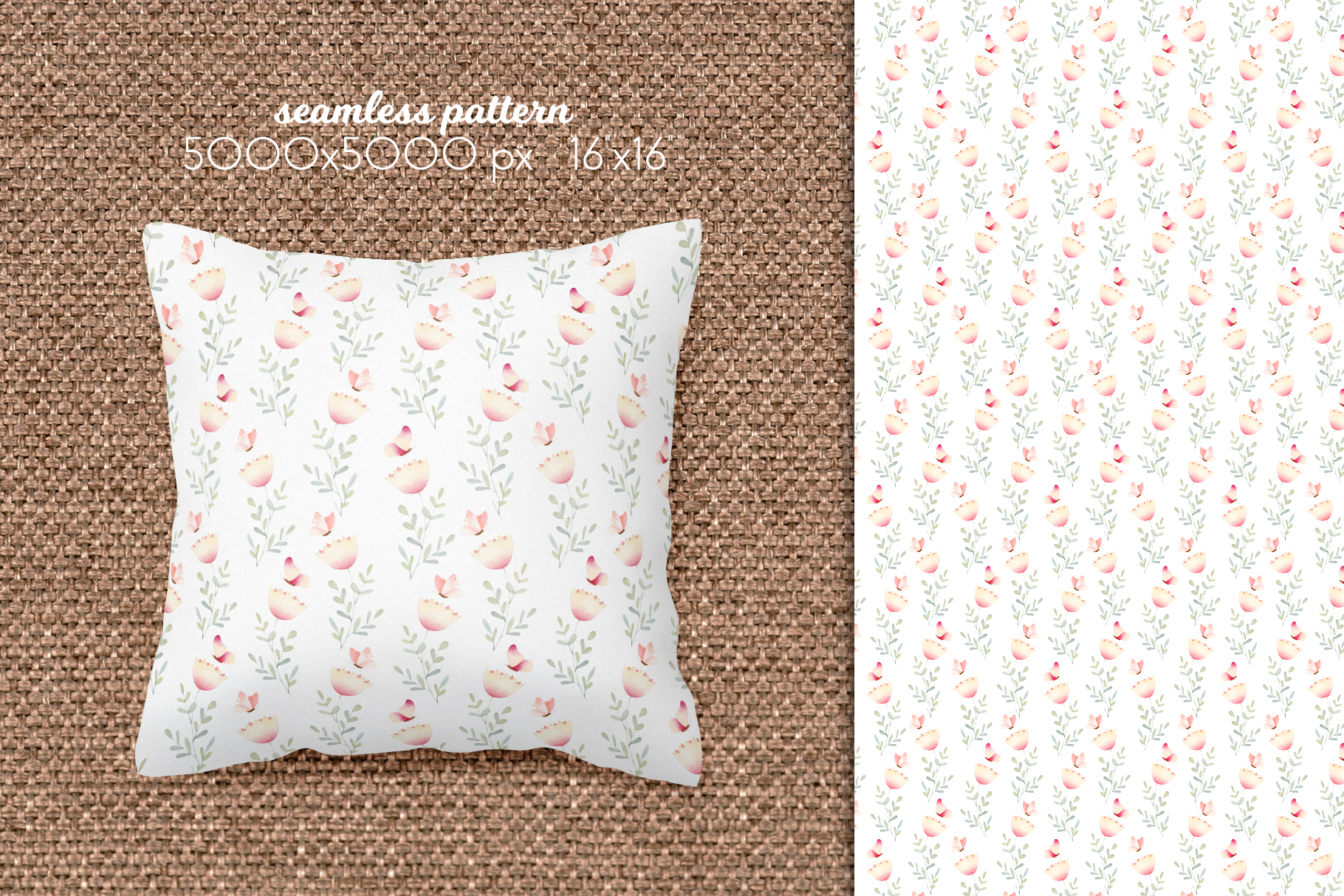 Butterflies and Dragonflies Patterns Collection example image 16