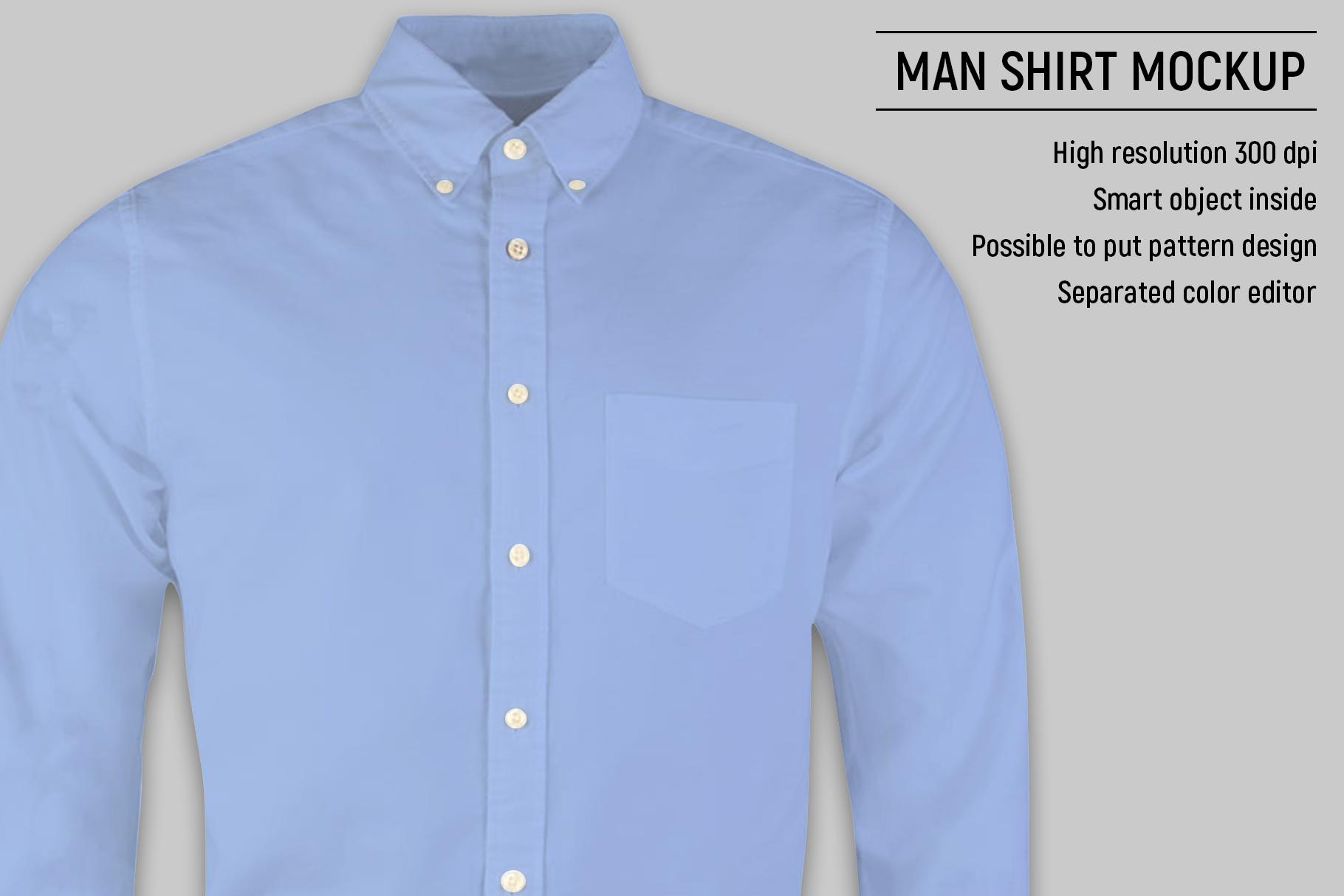 Man shirt mockup example image 3