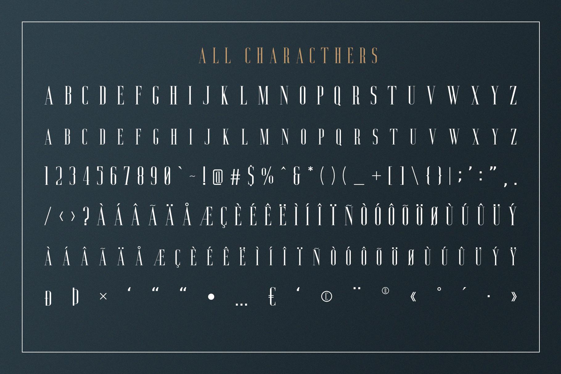 Aguero Serif - Clean & Elegant Font example image 5