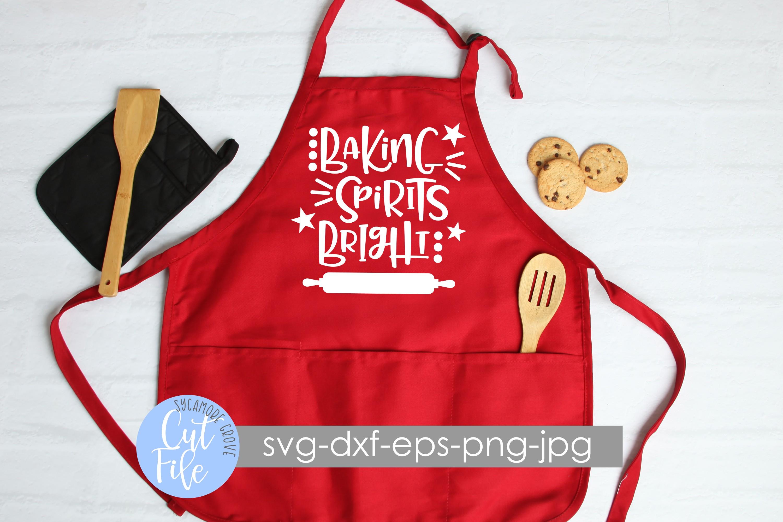 Baking Spirits Bright | Christmas SVG example image 3