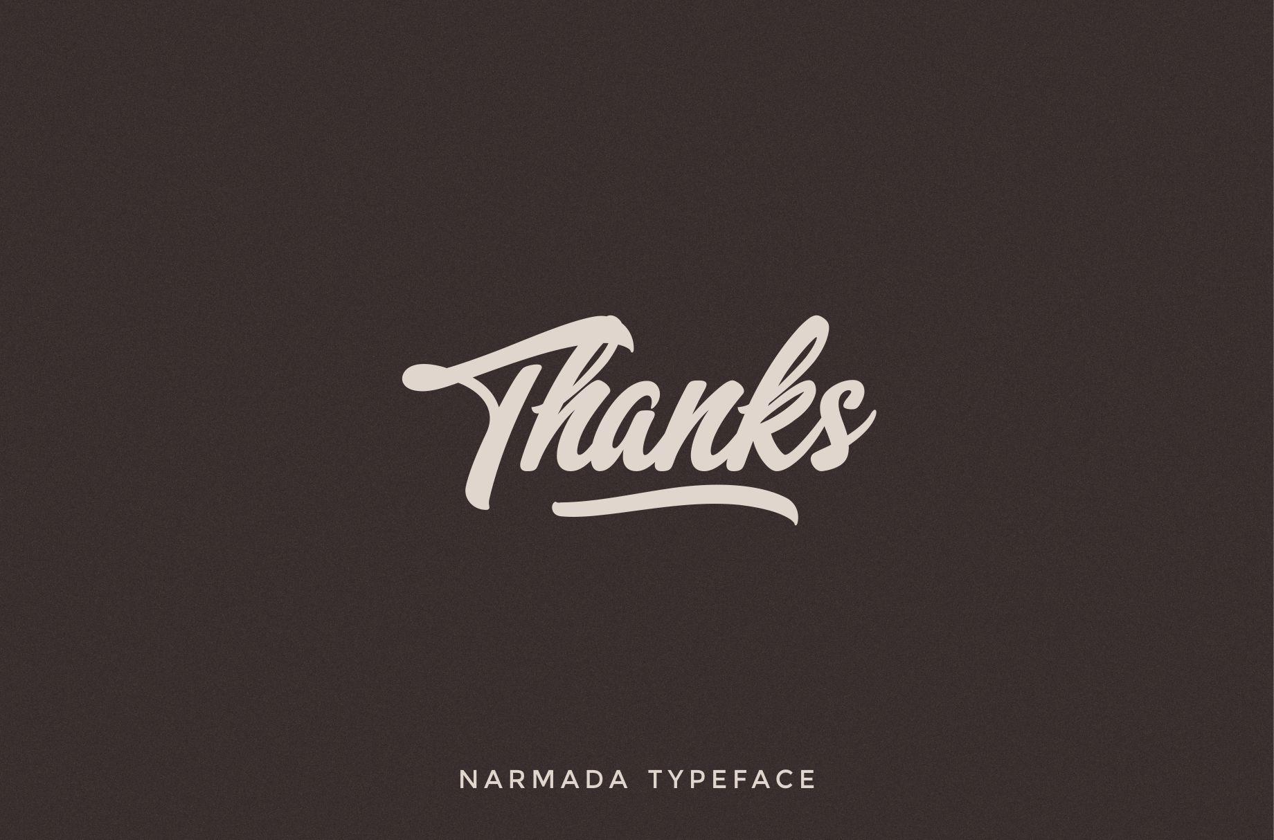 Narmada Typeface example image 7