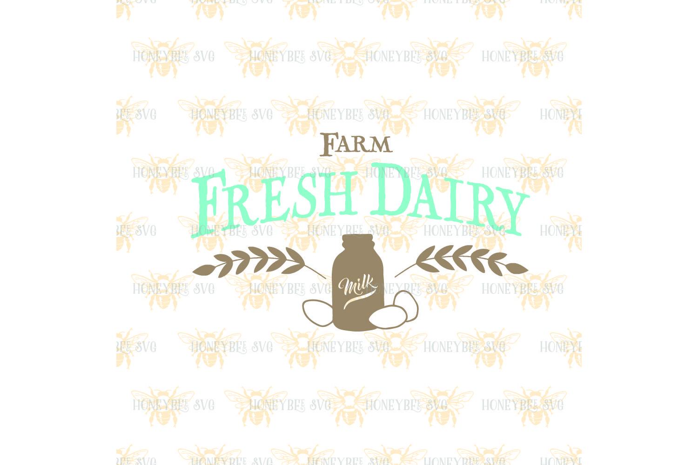 Farm Fresh Dairy svg example image 2