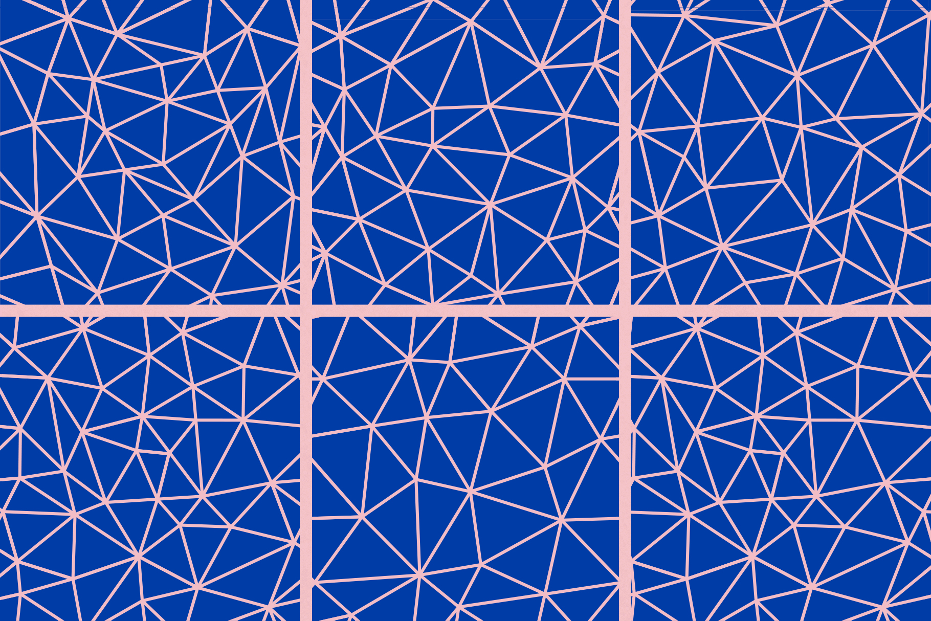 Low Poly Seamless Patterns example image 6